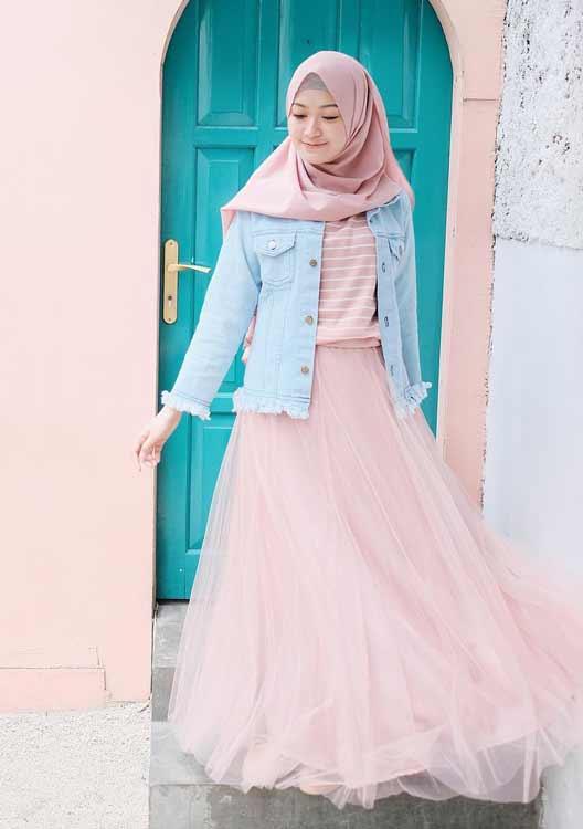 Trend Baju Muslim 2019 - Hijab Pastel