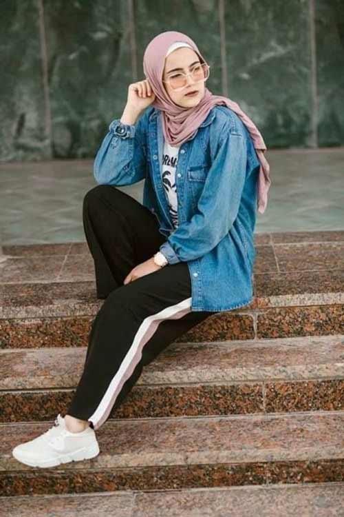 Trend Baju Muslim 2019 - Hijab Street Style