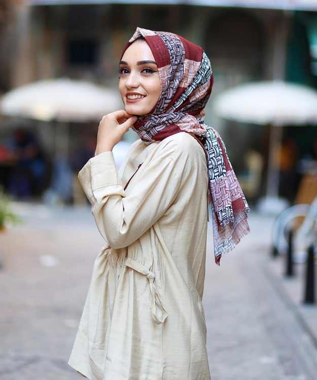 Trend Baju Muslim 2019 - Motif Printing