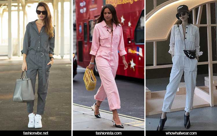 Trend Fashion Wanita 2019 - Boiler suits