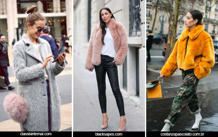 Trend Fashion Wanita 2019 - Fake fur