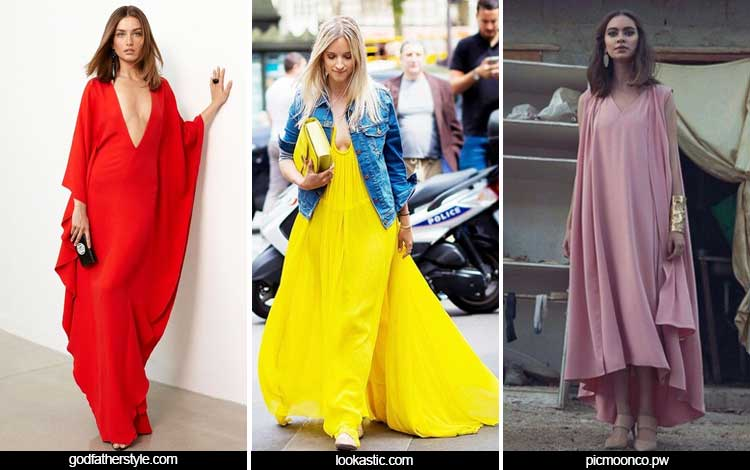 Trend Fashion Wanita 2019 - Flowing gowns