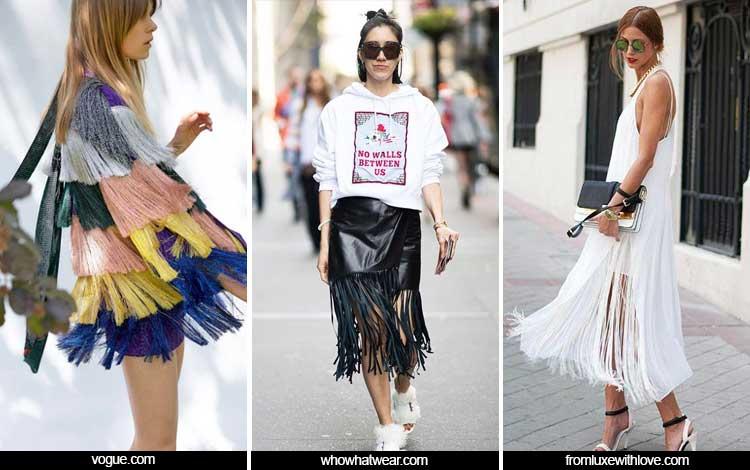Trend Fashion 2019 - Fringe