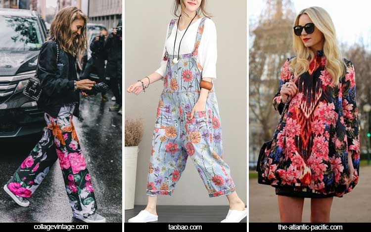 Trend Fashion Wanita 2019 - Full of flower