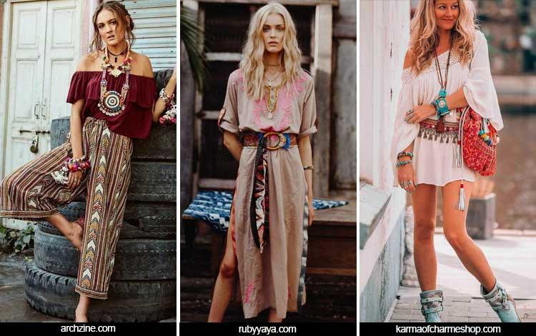 Trend Fashion 2019 - Hippie/Bohemian style