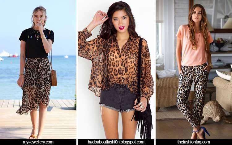 Trend Fashion Wanita 2019 - Leopard print