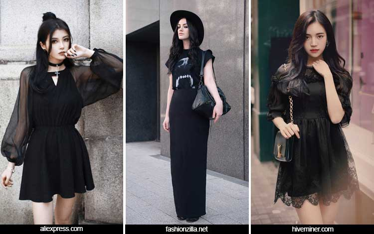 Trend Fashion Wanita 2019 - Neo gothic