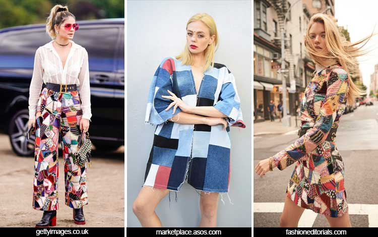 Trend Fashion Wanita 2019 - Patchwork