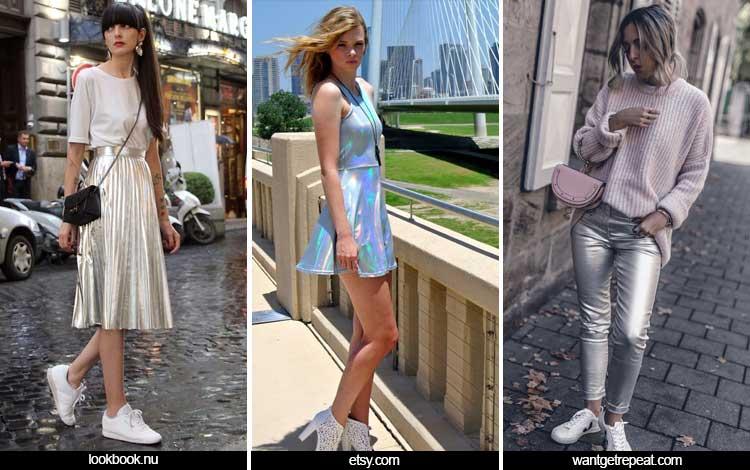 Trend Fashion 2019 - Shimmery Metallics
