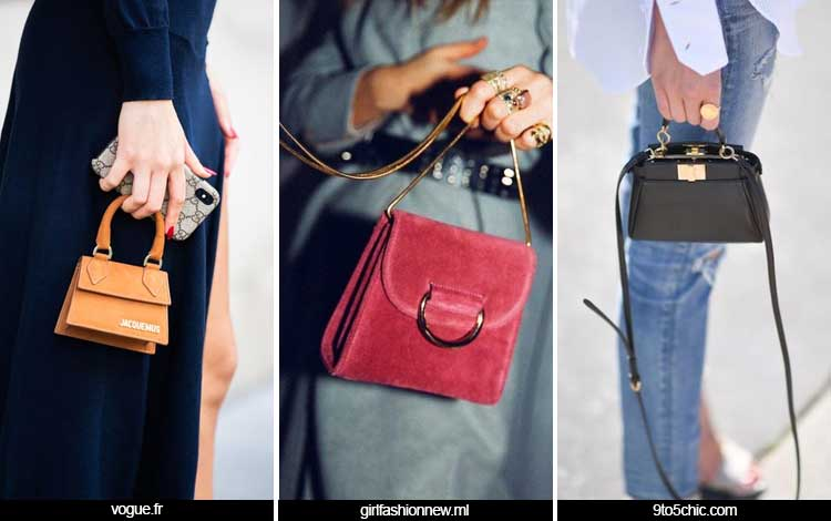 Trend Fashion Wanita 2019 - Shrunken Bags
