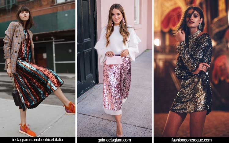 Trend Fashion Wanita 2019 - Sequin
