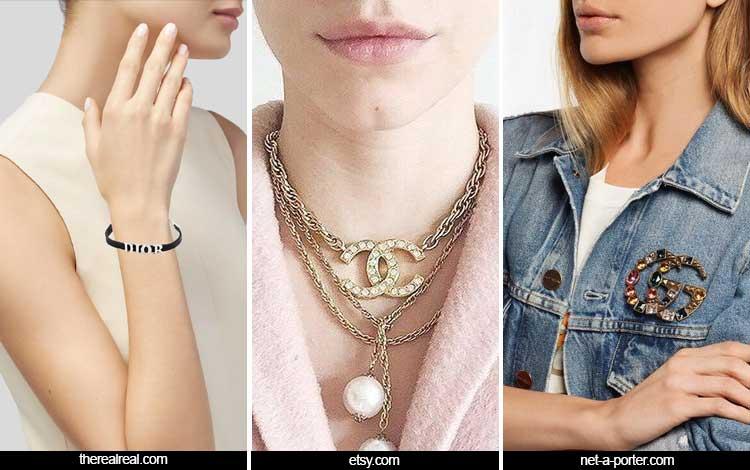 Trend Aksesoris 2019 - Logo Jewelry