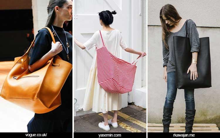 Trend Aksesoris 2019 - Super Large Tote Bag