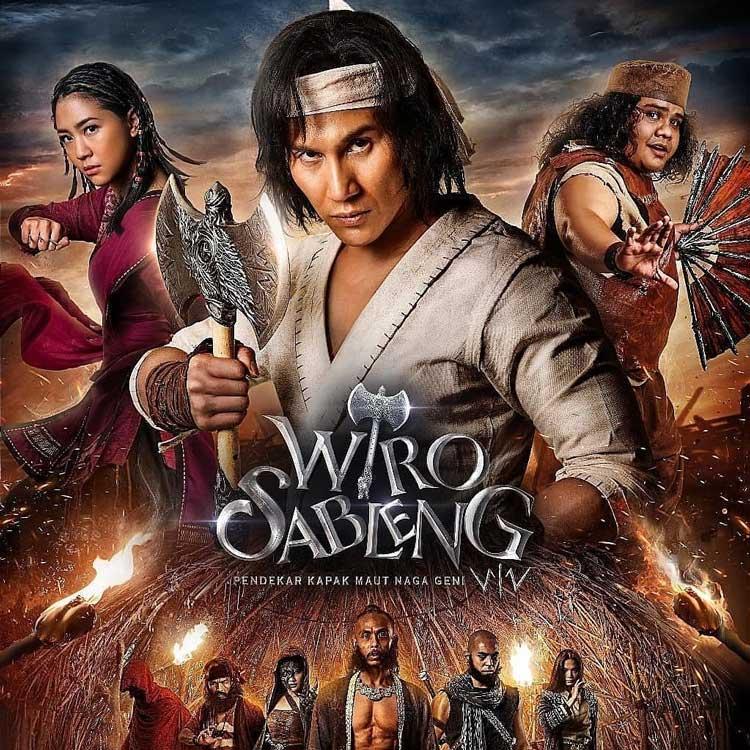 10 Film Indonesia Dengan Penonton Terbanyak Selama 2018 - Wiro Sableng: Pendekar Kapak Maut Naga Geni 212