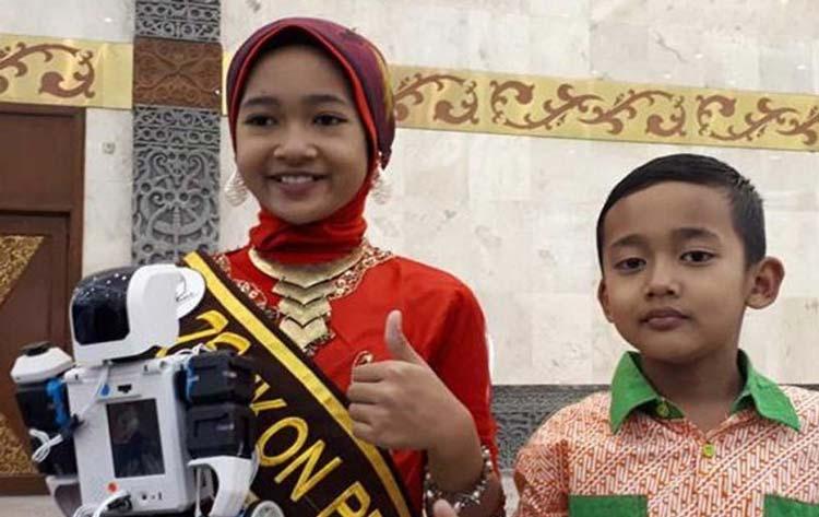 Anak Muda Indonesia yang Berprestasi di Kancah Internasional Syahrozal Zalfa Nadia dan Avicenna Roghid Putra Sidik