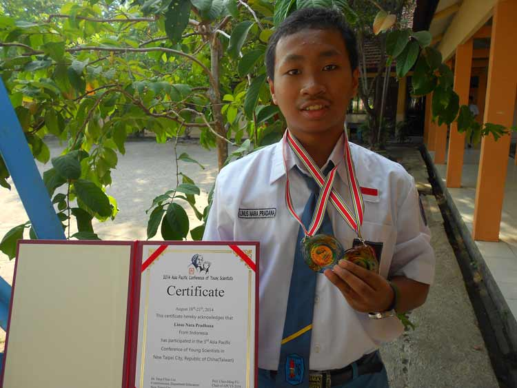 Anak Muda Indonesia yang Berprestasi di Kancah Internasional Linus Nara Pradhana