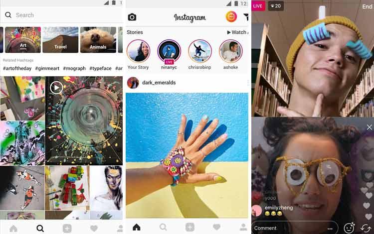 Daftar Aplikasi Android Penyedot Baterai Terboros Instagram