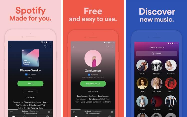 Daftar Aplikasi Android Penyedot Baterai Terboros Spotify