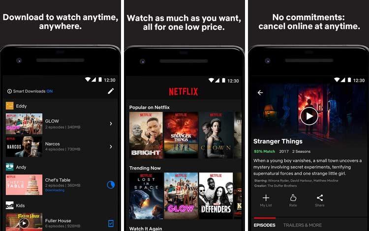 Daftar Aplikasi Android Penyedot Baterai Terboros Netflix