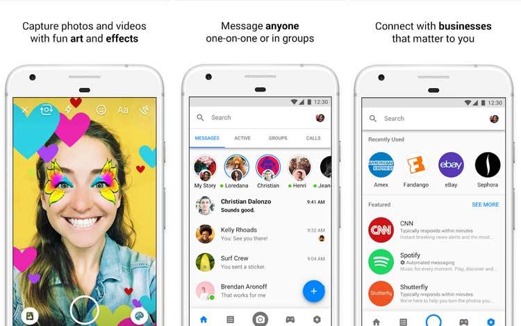 Daftar Aplikasi Android Penyedot Baterai Terboros Facebook Messenger