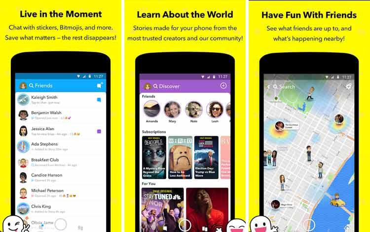 Daftar Aplikasi Android Penyedot Baterai Terboros Snapchat