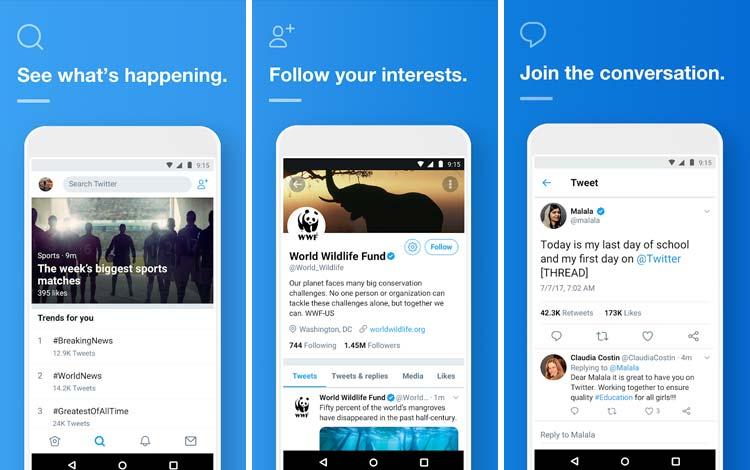 Daftar Aplikasi Android Penyedot Baterai Terboros Twitter