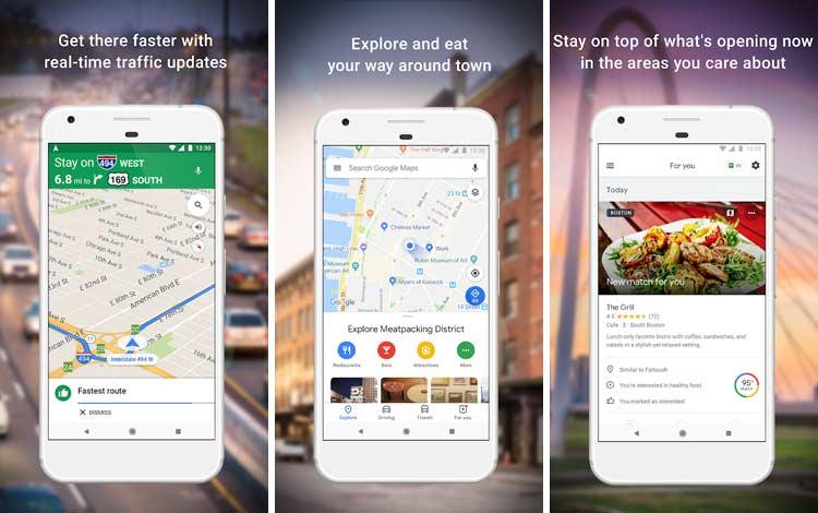 Daftar Aplikasi Android Penyedot Baterai Terboros Google Maps