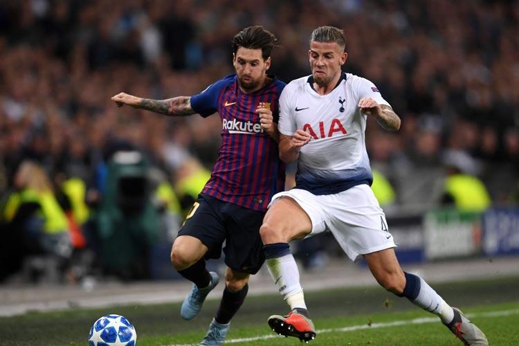 Hasil Liga Champion Eropa Pekan ke 6 Penyisihan Grup Barcelona 1-1 Tottenham