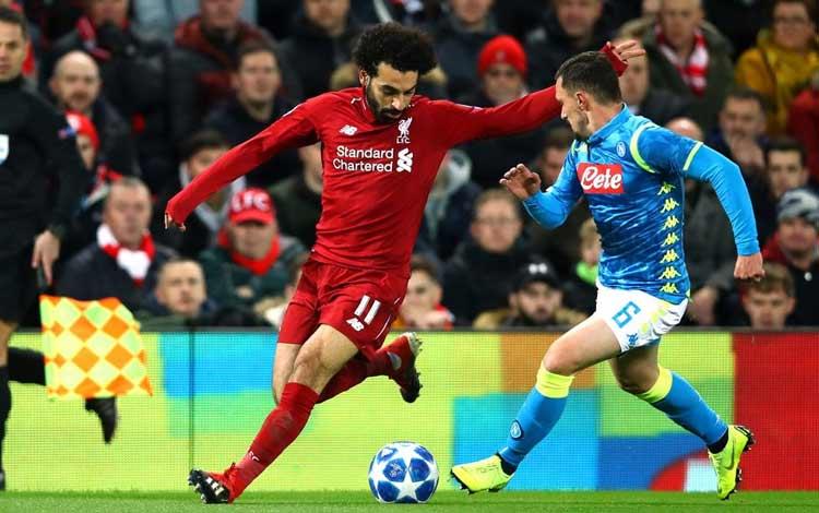 Hasil Liga Champion Eropa Pekan ke 6 Penyisihan Grup Liverpool 1-0 Napoli