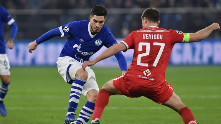 Hasil Liga Champion Eropa Pekan ke 6 Penyisihan Grup Schalke 04 vs Lokomotiv Moscow