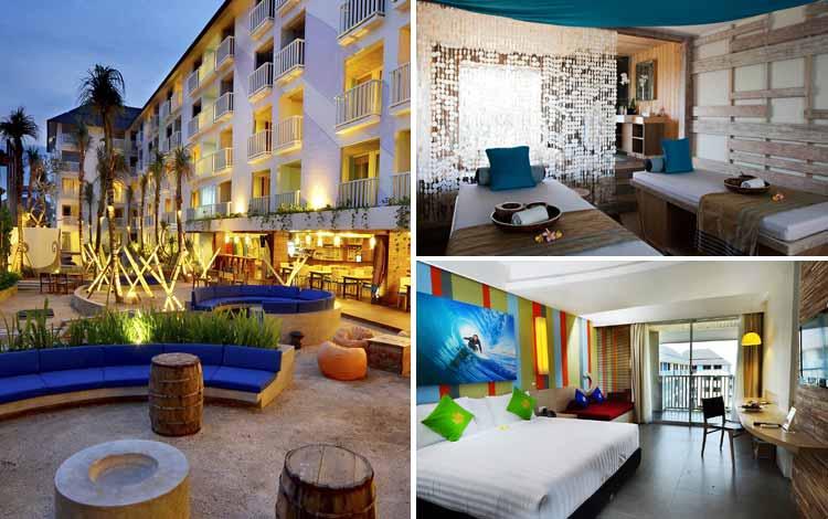Hotel Bagus dan Murah di Bali Bliss Surfer Hotel