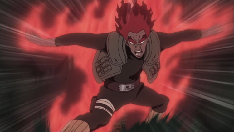 Jurus Terhebat di Anime Naruto - Hachimon