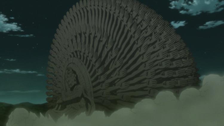 Jurus Terhebat di Anime Naruto - Senpon Mokuton: Shinsuusenju