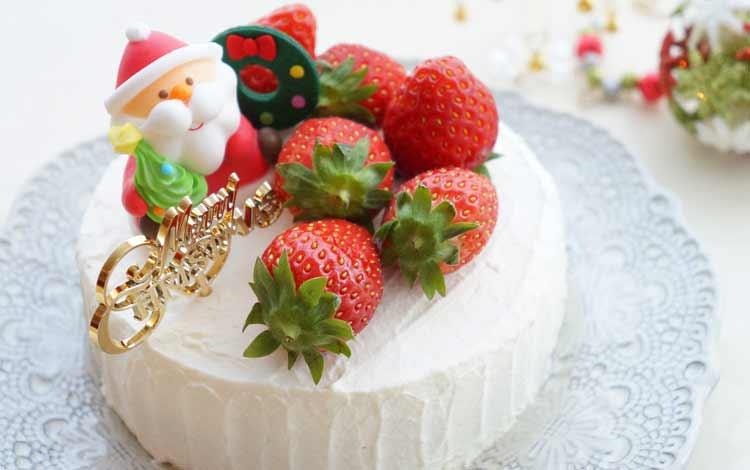 Makanan Dan Minuman Yang Identik Dengan Perayaan Natal - Christmast cake