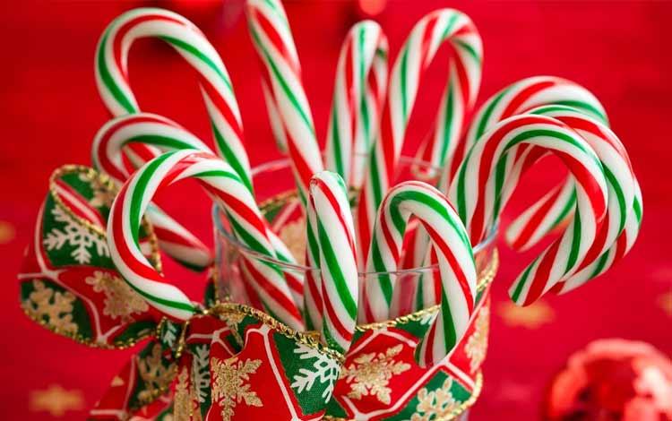 Makanan Dan Minuman Yang Identik Dengan Perayaan Natal - Candy Cane