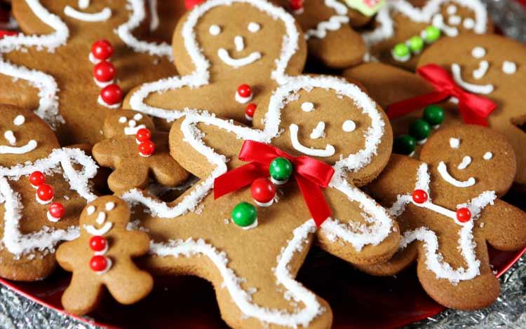 Makanan Dan Minuman Yang Identik Dengan Perayaan Natal - Gingerbread