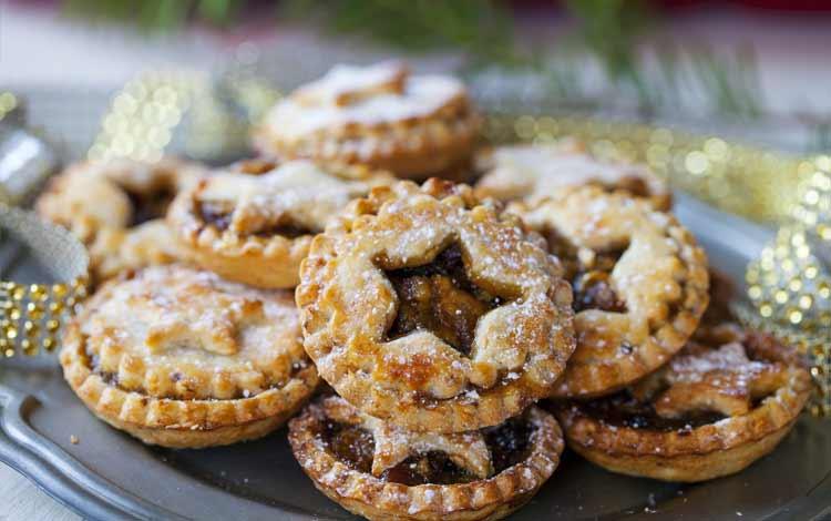 Makanan Dan Minuman Yang Identik Dengan Perayaan Natal - Mince Pie