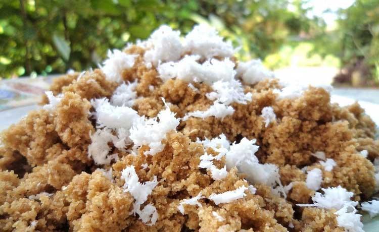Makanan dan Minuman Khas Jogjakarta - Nasi Tiwul
