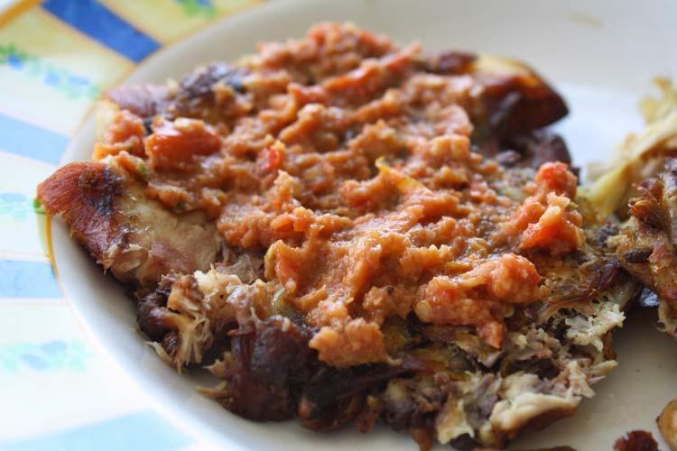 Makanan dan Minuman Khas Jogjakarta - Ayam Geprek
