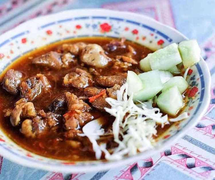 Makanan dan Minuman Khas Jogjakarta - Entok Slenget