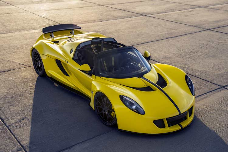 Mobil Mewah di Dunia Hennessey Venom GT