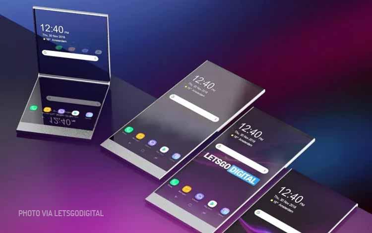 Ponsel Sony Experia Tembus Pandang