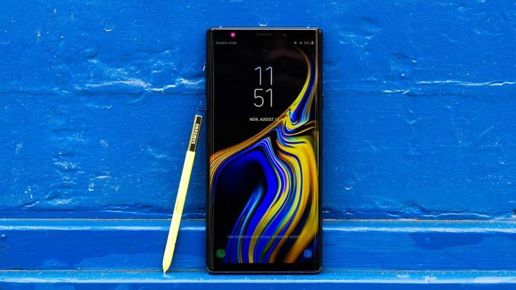 Jajaran Smartphone Terbaik Tahun 2018 Samsung Galaxy Note 9