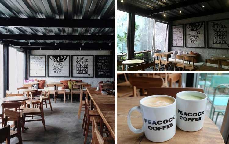 Tempat Nongkrong di Jogjakarta - Peacock Coffee
