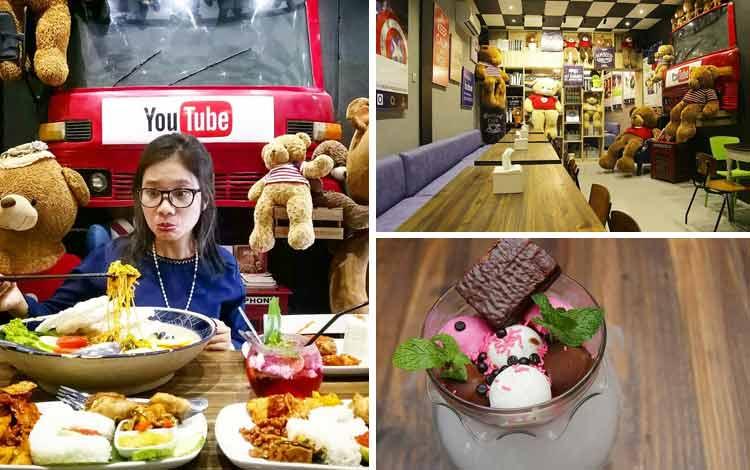 Tempat Nongkrong di Medan Sosmed Café