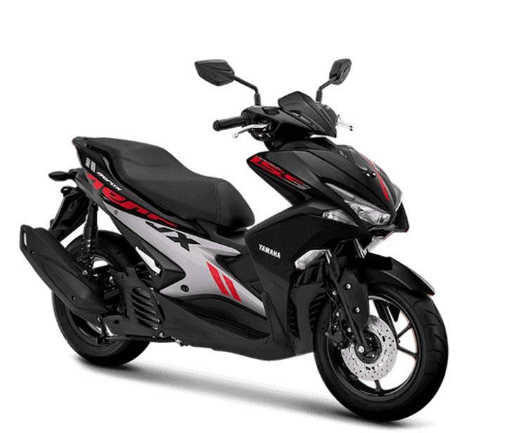 "Keren! Yamaha Aerox 155 ""Ganti Baju"" grey"