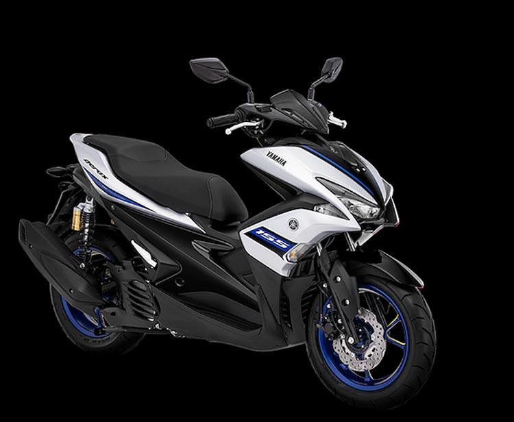 "Keren! Yamaha Aerox 155 ""Ganti Baju"" matte silver"