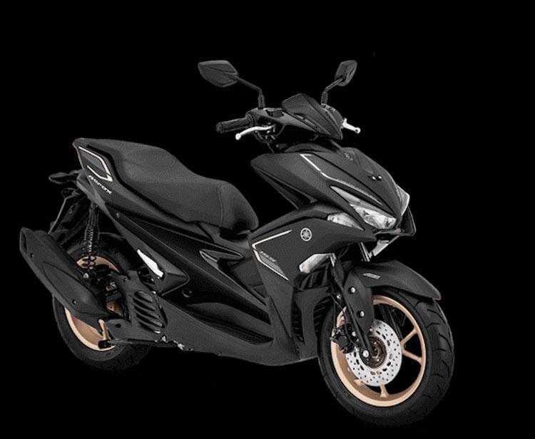 """Keren! Yamaha Aerox 155 """"Ganti Baju"""" matte black"""