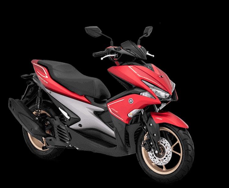 """Keren! Yamaha Aerox 155 """"Ganti Baju"""" matte red"""