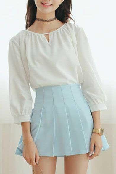 Tips Memilih Baju Untuk Wanita Yang Bertubuh Kurus - A-line dan Tube Skirt